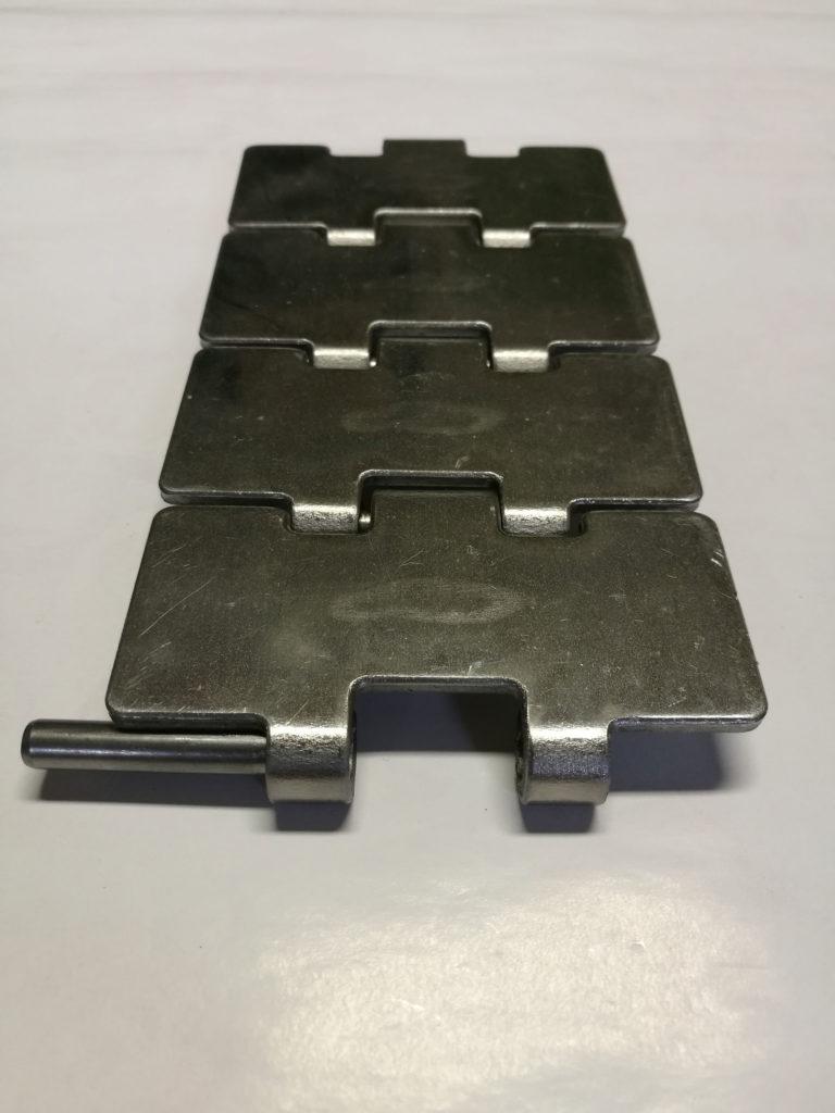 Łańcuchy płytkowe metalowe
